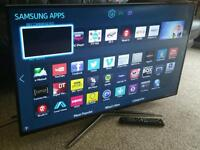 """SAMSUNG 40"""" Ultra-Slim LED FULL HD 3D SMART TV with Built in WiFi, Freeview HD, New Condition."""