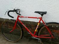 Vintage BSA Javelin Racer Bike. 5 Huret Gears.