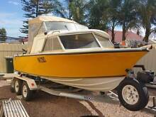 18FT MUSTANG 140HP PRICED CHEAP TO SELL Whyalla Whyalla Area Preview