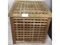 Ikea Solid Wood Laundry Storage Box Chest Large ealing