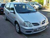 Automatic Nissan,88K Low miles,Long Mot,Aircon,Hpi Clear,Service hist £595