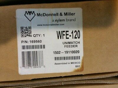 Mcdonnell Miller Wfe-120 169560 Unimatch Automatic Water Feeder
