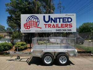 8 x 5 Heavy Duty Tandem Fully Galvanised Box Trailer 2000kg ATM Penrith Penrith Area Preview