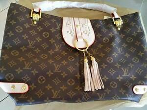 Louis Vuitton Large Chocolate Brown and Gold  Tote Bag Larrakeyah Darwin City Preview