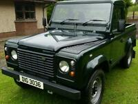 2006 Landrover Defender 90 Td5 Galvanised chassis