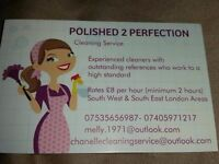 PROFESSIONAL DOMESTIC CLEANER *AVAILABLE IMMEDIATELY*(£10ph Minimum2hours)