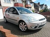 2004 Ford Fiesta 1.4 Silver 3Dr, Limited Edition, Service History, Black Leather, Alloys, HPI Clear