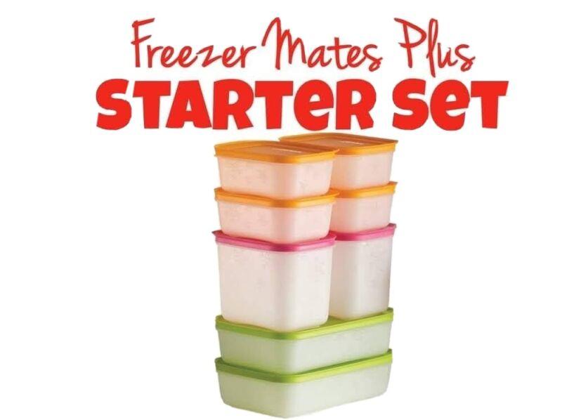 Tupperware 5pc FreezerMates Plus