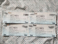 ARCTIC MONKEYS TICKETS - STANDING - SHEFFIELD - FLYDSA ARENA - TUESDAY 18 SEPTEMBER 2018