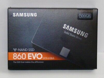 Samsung 860 EVO 500GB 2.5 Inch SATA III laptop Internal SSD (MZ-76E500B/AM)