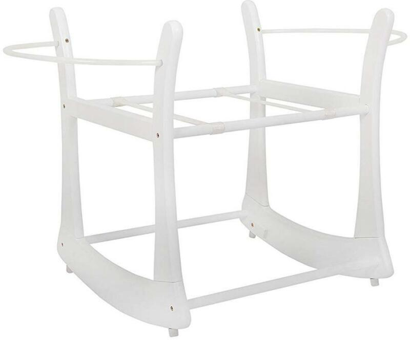 East Coast ROCKING MOSES STAND - WHITE Newborn Toddler Nursery Furniture