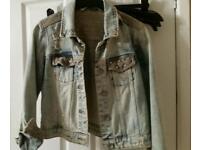 ZARA denim jacket size L/12-14