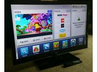 """LG 42"""" Slim LED 3D CINEMA FULL HD SMART TV FREEVIEW HD, 3D GLASSES NEW CONDITION FULLY WORKING TV"""
