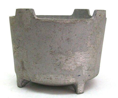 """NOS ZURN 4101-1 CAST ALUMINUM FLOOR ROOF DRAIN SEDIMENT CATCH BUCKET 7"""" DIA KB"""