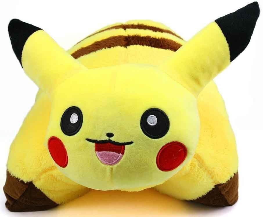 "17"" Pokemon Pikachu Pillow Pet Cushion Pocket Monster Plush"