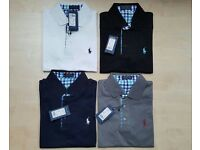 Ralph Lauren polo shirts men's sizes Small to XL various colours