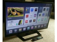 """LG 42"""" Slim LED FULL HD SMART TV WITH BUILT IN WiFi, FREEVIEW HD, 4X HDMI, NEW CONDITION FULLY WORKN"""