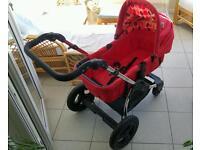 KiddieCouture Fizz Pram / Pushchair