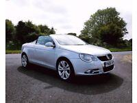CONVERTABLE VW EOS HEATED LEATHER clk slk golf cc beetle 9-3 116 120 A1 a3 TT 320 a4 mini mx5