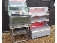 Shop hot food display - pub club resteraunt newsagents