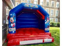 Bouncy castle, 4ft GIANT Love lights, Chocolate fountain, Sweet cart, Candy floss, popcorn, slush,