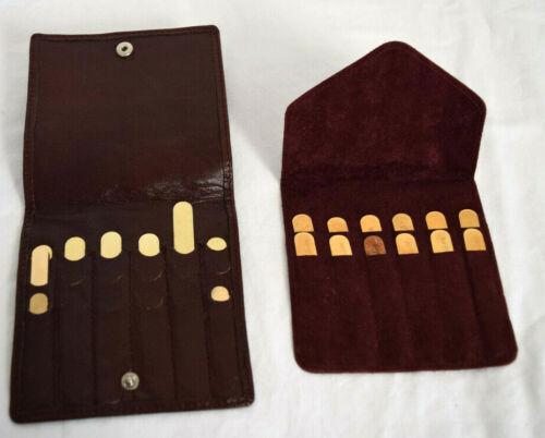 12 Turnbull & Asser And 9 Kuang Huei Collar Brass Stays Set  2.5