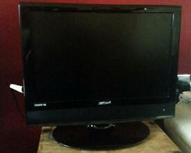 19inch lcd tv without remote combi dvd player, but volume problem, hdmi, hd ready