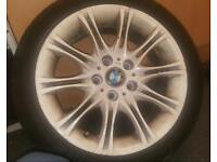 "M sport 17"" bmw alloys"