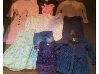 Bundle of girls clothes age 6m - 18m