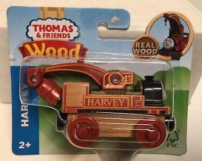 Thomas & Friends Wooden Railway Harvey Engine 2017 , New