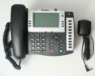 Packet8 St-2118 Corded Office Phone Speakerphone Works With Voip Or Analog