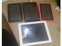 Ipad and variose tablets spares or repair 3x ipad screens ipad mini ipad air and more