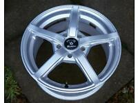 "Diamond Lite Alloy Wheels 16"" 7J 5 stud"