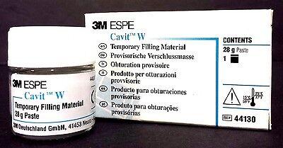 Cavit W 28 Gram Jar Paste White Temporary Filling Material Dental  44130