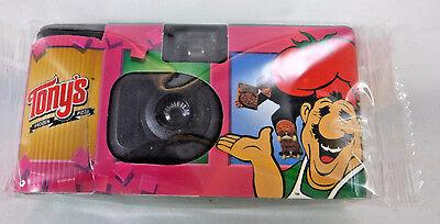 Tony's Frozen Pizza Promotional Disposable Fujicolor 35mm Camera Expired 05/2001 - Frozen Camera