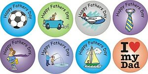 48 Happy Fathers Day stickers