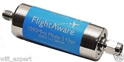 ADS-B 1090MHz Band-pass SMA Filter from FlightAware