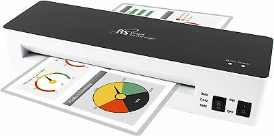 Royal Sovereign 9 Inch 2 Roller Glass Top Pouch Laminator Il-926w
