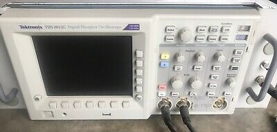 Tektronix 2-channel 100mhz 1.25gss Digital Phosphor Oscilloscope Tds3012c