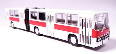 H0 Brekina 59708 Bus Ikarus 280 Gelenkbus hellelfenbein Neuware OVP