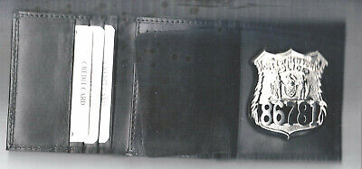 NYC Police Officer Wallet holds Badge/money/credit cards with a Gift Box - Gift Boxes Nyc