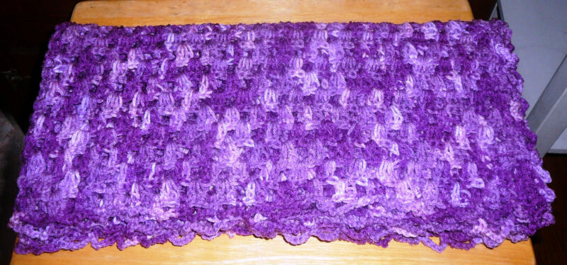 BABY BLANKETS~Hand Crocheted~Colors & Sizes Vary~NEW