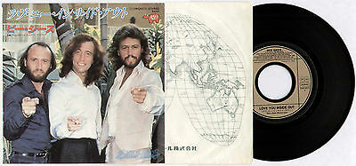 "BEE GEES ~ LOVE YOU INSIDE OUT / I'M SATISFIED ~ 1979 JAPAN 7"" SINGLE + P/S"