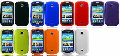 Silicone Flexi Soft Skin Gel Cover Case for Samsung Galaxy Legend / Stellar i200 Flexie Soft Case