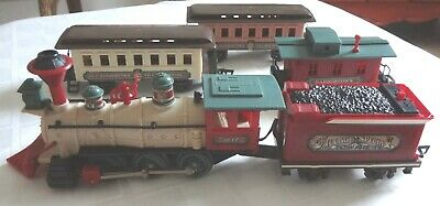 Vintage New Bright/ Old Harbortown Village Special Train Set