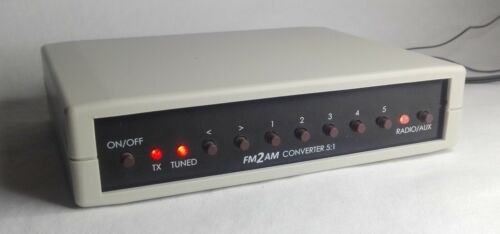 FM2AM - FM to AM Converter / Transmitter for Vintage Radio