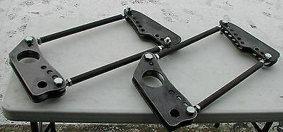 Drag 4-Link Bars, Rod Ends and Mounting Plates, Checkered - Checkered Racing