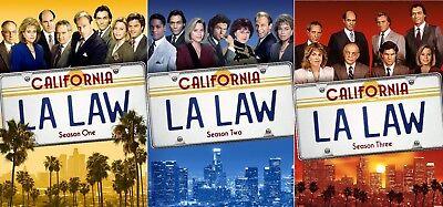 LA LAW TV Series Complete Seasons 1-3 DVD Bundle BRAND NEW Free Ship 1 2 3