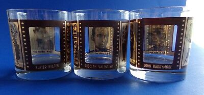 Silent Screen Movie Stars Old Fashioned Glasses Houze Art Roaring Twenties