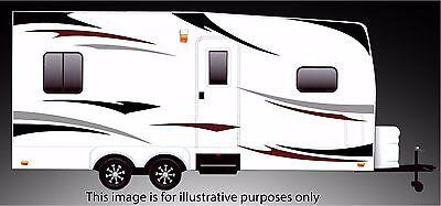 ( RV, Trailer Hauler, Camper, Motor-home Large Decals/Graphics Kits 24-k-3)